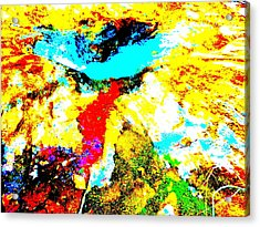 Mellow Yellow 42 Acrylic Print by George Ramos