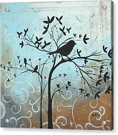 Melodic Dreams By Madart Acrylic Print by Megan Duncanson