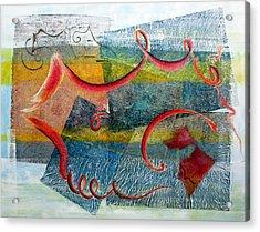 Melody In My Mind Acrylic Print by Asha Carolyn Young