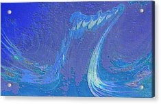 Acrylic Print featuring the painting Melody by Mike Breau