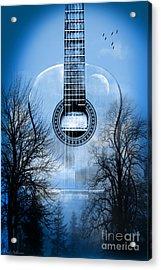 Melody Mystic Night  Acrylic Print by Mark Ashkenazi