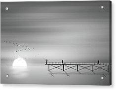 Melody Of Twilight Acrylic Print