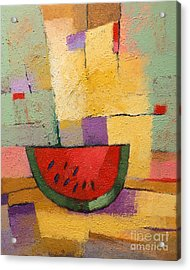 Melon Acrylic Print by Lutz Baar