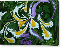 Melting Daisies Acrylic Print by Aimee L Maher Photography and Art Visit ALMGallerydotcom