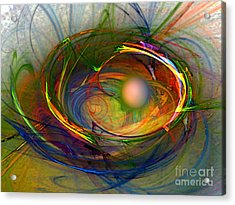 Melting Pot-abstract Art Acrylic Print