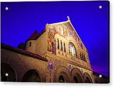Memorial Church Stanford University Acrylic Print by Scott McGuire