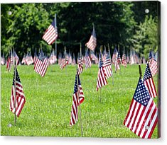 Acrylic Print featuring the photograph Memorial Day by Ed Weidman