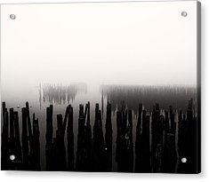 Memories And Fog Acrylic Print by Bob Orsillo