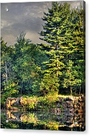 Memories And Reflections Acrylic Print