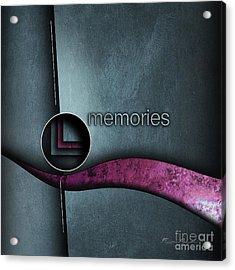 Memories Acrylic Print by Franziskus Pfleghart