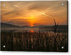 Memories Of A Sunset Acrylic Print by Rose-Maries Pictures