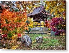 Memories Of Autumn-4 Acrylic Print by Tad Kanazaki
