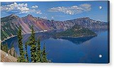 Memories Of Crater Lake Acrylic Print