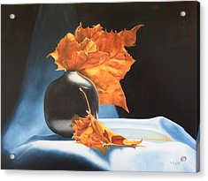 Memories Of Fall - Oil Painting Acrylic Print