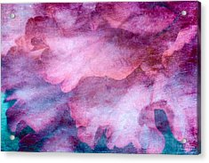 Memories Of Petals Acrylic Print