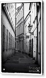 Memories Of Prague Acrylic Print by John Rizzuto