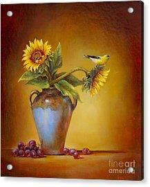 Memories Of Summer Acrylic Print by Lori  McNee