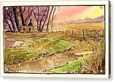 Memories Of Sunsets  Acrylic Print