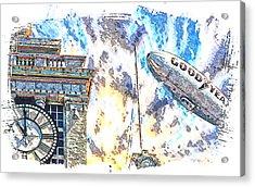 Memories Of The Hindenburg Acrylic Print by Ken Evans