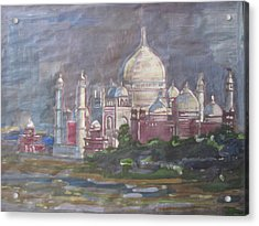 Memories Of The Taj Acrylic Print