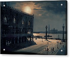 Acrylic Print featuring the painting Memories Of Venice No 2 by Douglas MooreZart