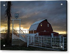 Memories On The Mother Road Acrylic Print