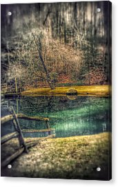Acrylic Print featuring the photograph Memories Revisited by Steven Huszar