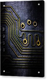 Memory Chip Number Two Acrylic Print by Bob Orsillo