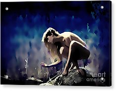 Memory Of A Muse Acrylic Print by Tbone Oliver