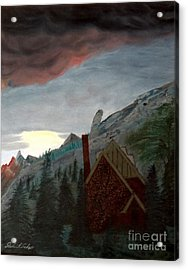 Memory Of Jonbenet Ramsey Acrylic Print by Stephen Schaps
