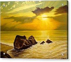 Memory Of Summer Acrylic Print by Svetla Dimitrova