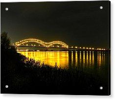 Memphis - Hernando De Soto Bridge 001 Acrylic Print