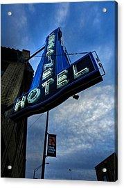 Memphis - Lorraine Motel 002 Acrylic Print by Lance Vaughn