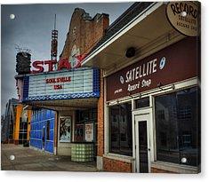 Memphis - Stax Records 002 Acrylic Print by Lance Vaughn