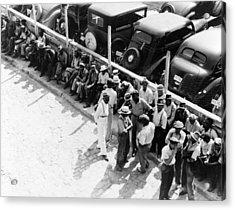 Memphis Unemployed, 1938 Acrylic Print by Granger
