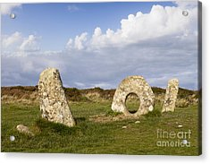 Men-an-tol Cornwall Acrylic Print by Colin and Linda McKie