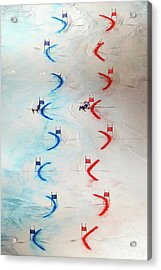 Men And Womens Nations Team Event - Acrylic Print