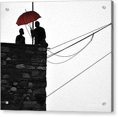 Men At Work Acrylic Print