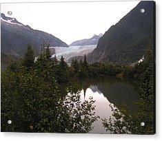 Mendenhall Glacier 1 Alaska Acrylic Print