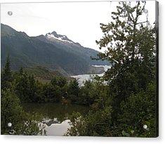 Mendenhall Glacier 2. Alaska Acrylic Print