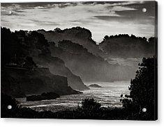 Mendocino Coastline Acrylic Print