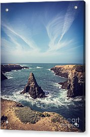 Mendocino Acrylic Print by Colin and Linda McKie