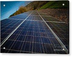Mendocino Solar Acrylic Print