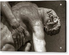 Menelaus Supporting The Body Of Patroclus Acrylic Print