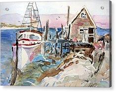 Menemsha Harbor Acrylic Print