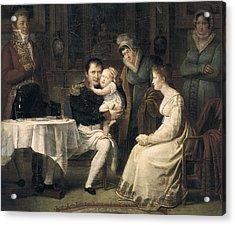 Menjaud, Alexandre 1773-1832. Napoleon Acrylic Print by Everett