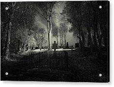 Menlo Cemetery Acrylic Print