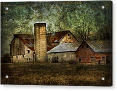 Mennonite Farm In Tennessee Usa Acrylic Print by Kathy Clark