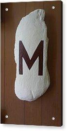 Menominee Maroons Acrylic Print by Jonathon Hansen