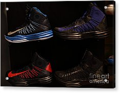 Men's Sports Shoes - 5d20654 Acrylic Print by Wingsdomain Art and Photography
